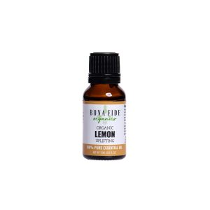 Organic Lemon Essential Oil (15 ml)